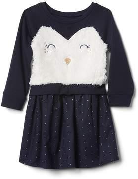 Gap Penguin Mix-Fabric Dress