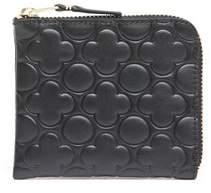 Comme des Garcons Women's Sa310e Black Leather Wallet.