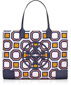 Tory Burch Ella Octagon Square Print Nylon Tote Bag - VIVID ORANGE - STYLE
