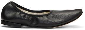 Repetto Black Elastic Ballerina Flats