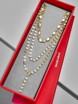 BaubleBar Aimee Layered Y-Chain Gift Set