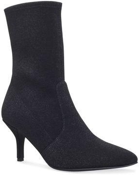 Stuart Weitzman Velvet Cling Sock Boots 65