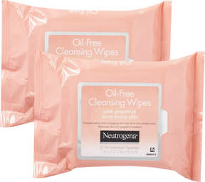 Neutrogena Pink Grapefruit Towelettes Twin Pack