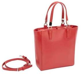 Royce Leather Women's Rfid Blocking Saffiano Leather Mini Tote.