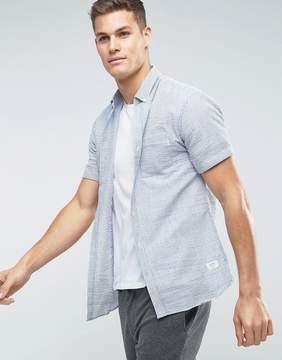 Lindbergh Seersucker Short Sleeve Shirt
