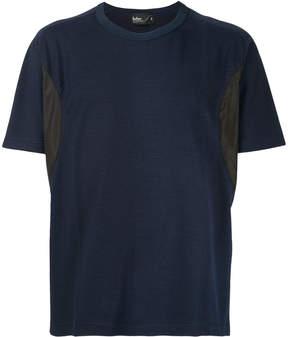 Kolor contrast panel T-shirt