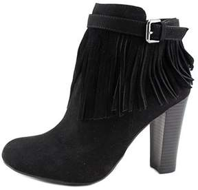 Material Girl Womens Persia Suede Round Toe Ankle Fashion Boots.