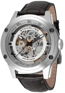 Stuhrling Original Zolara Z360 314.33152 Stainless Steel & Leather 50mm Watch