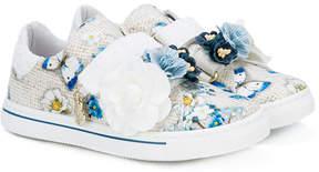 MonnaLisa flower sneakers