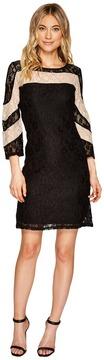 Christin Michaels Hazel Two-Tone Lace Dress Women's Dress