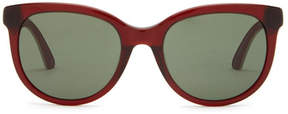Puma Women's Suede Cat Eye Sunglasses