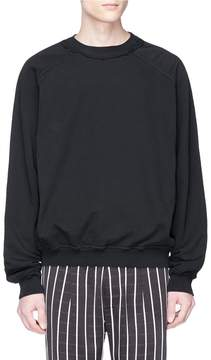 Haider Ackermann Frayed collar sweatshirt