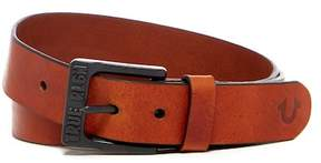True Religion 35mm Bridle Leather Belt