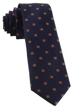 The Tie Bar Primrose Flowers Silk Tie
