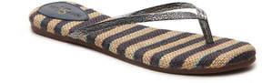 Yosi Samra Women's Roee Stripe Flip Flop