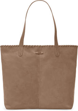 Toms Light Cognac Distress Leather Cosmopolitan Tote