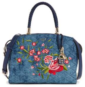 GUESS Heather Embroidered Satchel