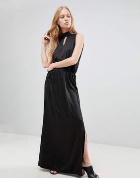 B.young High Neck Maxi Dress