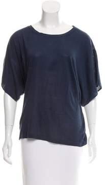 Adam Dolman Sleeve Silk Top