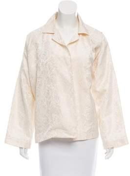 eskandar Silk Jacquard Jacket