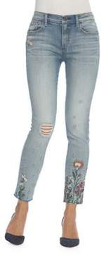 Driftwood Jackie Zeus Distressed Skinny Jeans