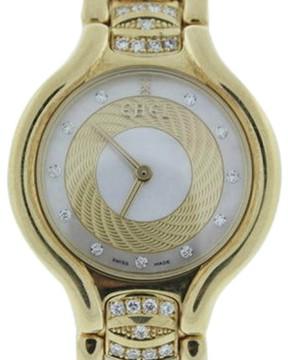 Ebel Beluga 18K Yellow Gold Diamond 26mm Watch
