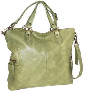 Nino Bossi Women's Adela Leather Satchel