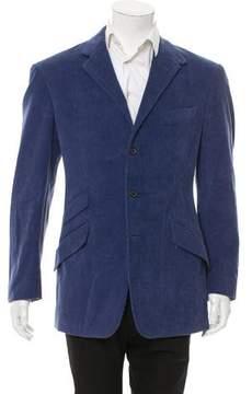 Ralph Lauren Purple Label Corduroy Three-Button Blazer