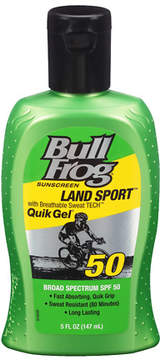 Bull Frog Land Sport Quik Gel Sunscreen, SPF 50