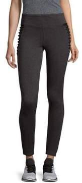 Betsey Johnson Crisscross Hip Leggings