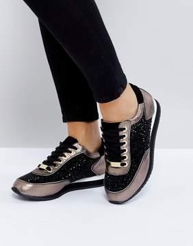 Carvela Lemmy Metallic Gem Sneakers