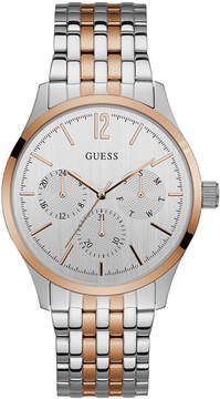 GUESS Men's Two-Tone Stainless Steel Bracelet Watch 42mm