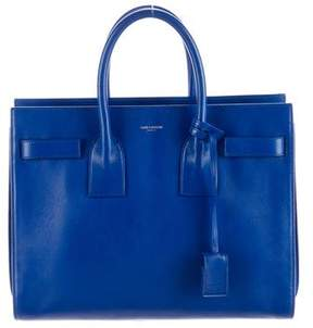 Saint Laurent Small Sac de Jour - BLUE - STYLE