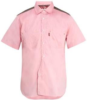 Junya Watanabe X Levi's short-sleeved cotton-poplin shirt