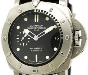 Panerai Luminor PAM00364 Titanium / Rubber Automatic 47mm Mens Watch