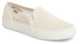 Keds Women's Double Decker Crochet Slip-On Sneaker