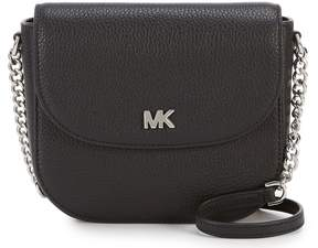 MICHAEL Michael Kors Half Dome With Silver Hardware Cross-Body Bag