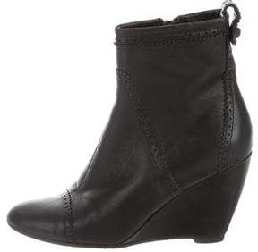 Balenciaga Arena Wedge Ankle Boots