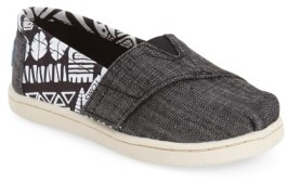 Toms Infant 'Tiki' Canvas Slip-On