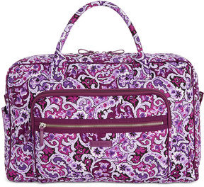 Vera Bradley Iconic Extra-Large Weekender Travel Bag - LILAC PAISLEY - STYLE