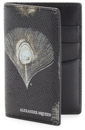 Alexander McQueen Printed Leather Pocket Organizer