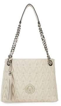 Mario Valentino Luisa Leather Shoulder Bag
