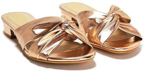 Nasty Gal nastygal Fool's Gold Metallic Mule