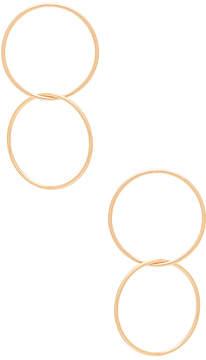 Ettika Joining Circle Earrings