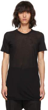 Rick Owens Black Basic T-Shirt