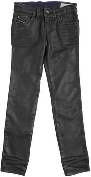 Diesel Coated Stretch Denim Jeans
