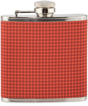 Neiman Marcus HD Weave Dotted Flask, 6 oz.