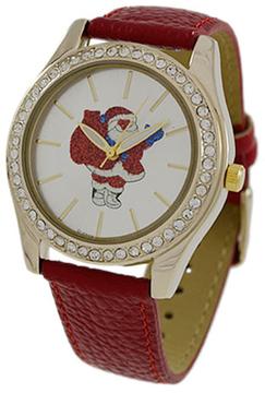 Geneva Platinum Santa Strap Watch