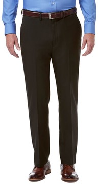 Haggar Men's Premium Comfort Stretch Classic-Fit Flat-Front Dress Pants