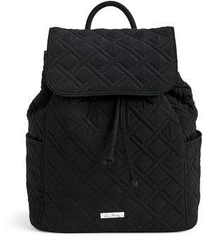 Vera Bradley Drawstring Backpack - VERA VERA CLASSIC BLACK - STYLE